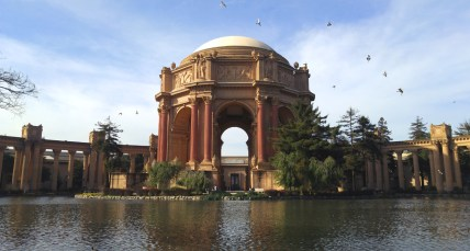 Palace of Fine Arts, San Francisco CA. Photo: Mary Charlebois