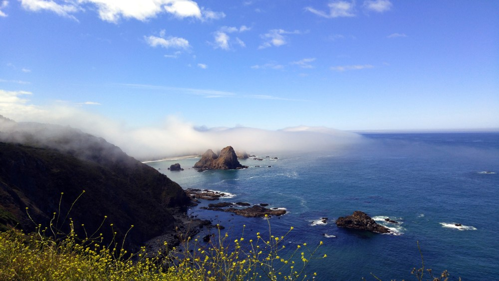 The Graveyard, along the Mendocino Coast. Photographer: Mary Charlebois