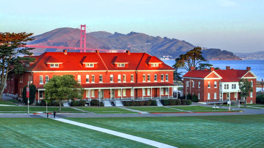 Lodge at the Presidio, San Francisco. Photo courtesy of Presidio Trust.
