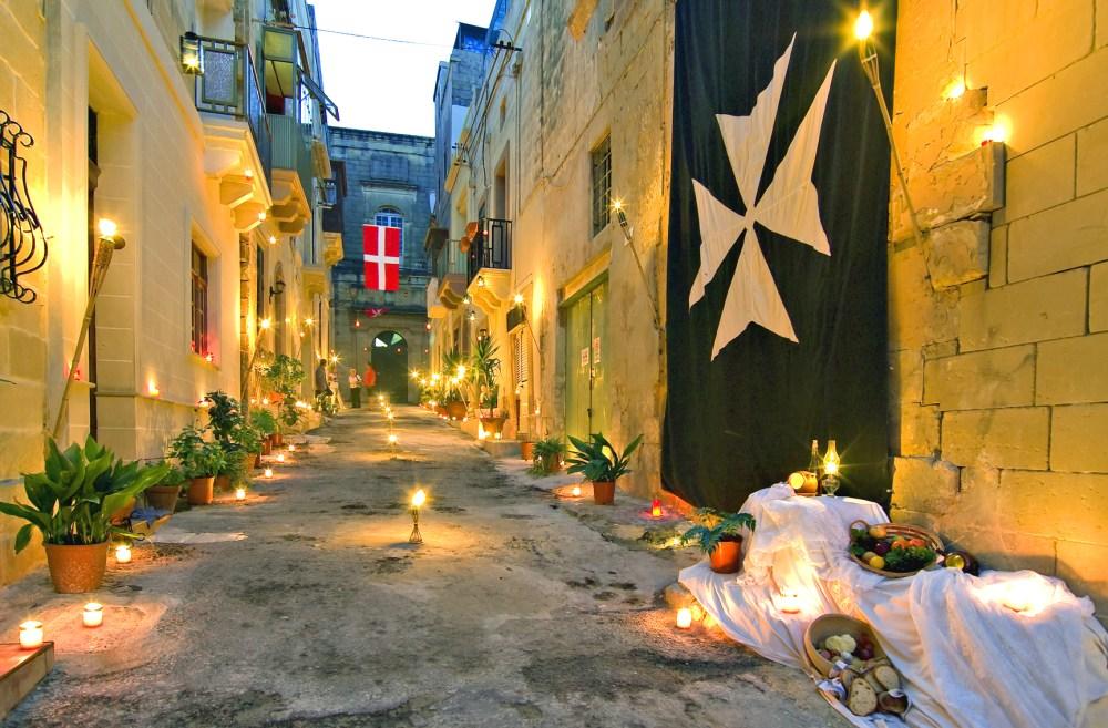 Birgu, Malta By Candlelight