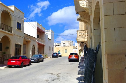Triq il-Gleneagles Street, Ghajnsielem Gozo. My home for 2-weeks. Photo: Mary Charlebois