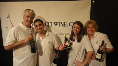 All in zee famille! My French Wine Club serving reds and sumptuous white wine.