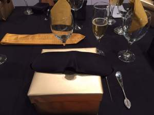 What's in the box? Round 1 of our tasting experience © Kaori Mahajan for WhereNYC