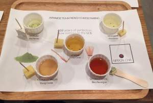 Cheese and Japanese Tea Pairing © Kaori Mahajan for WHereNYC