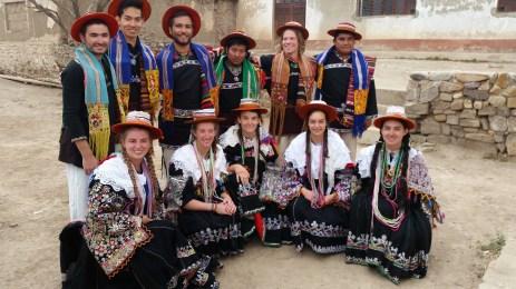 Calcha's traditional dress