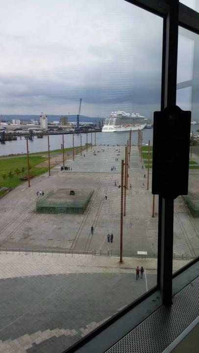 The slipway where the Titanic was built