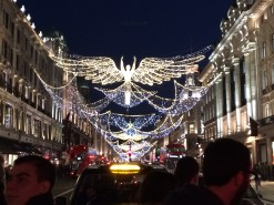 The Christmas lights on Regent street oh my