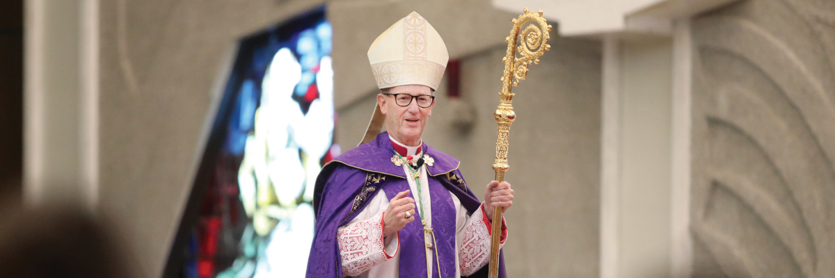 Bishop James Conley Returns to Work after Receiving Mental Health Treatment