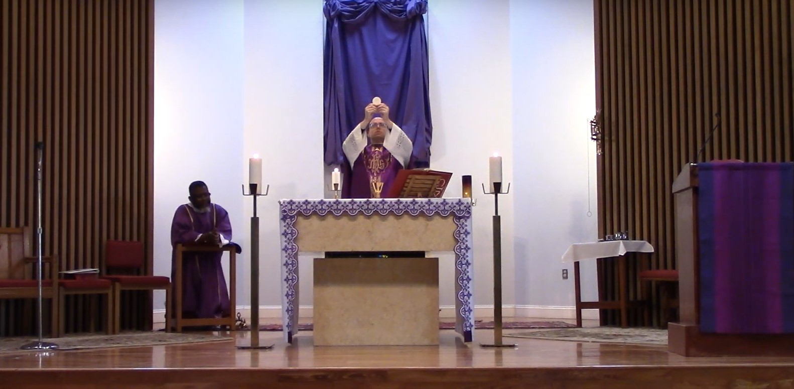 Learn about the Triduum Liturgies with Father Patrick Lewis