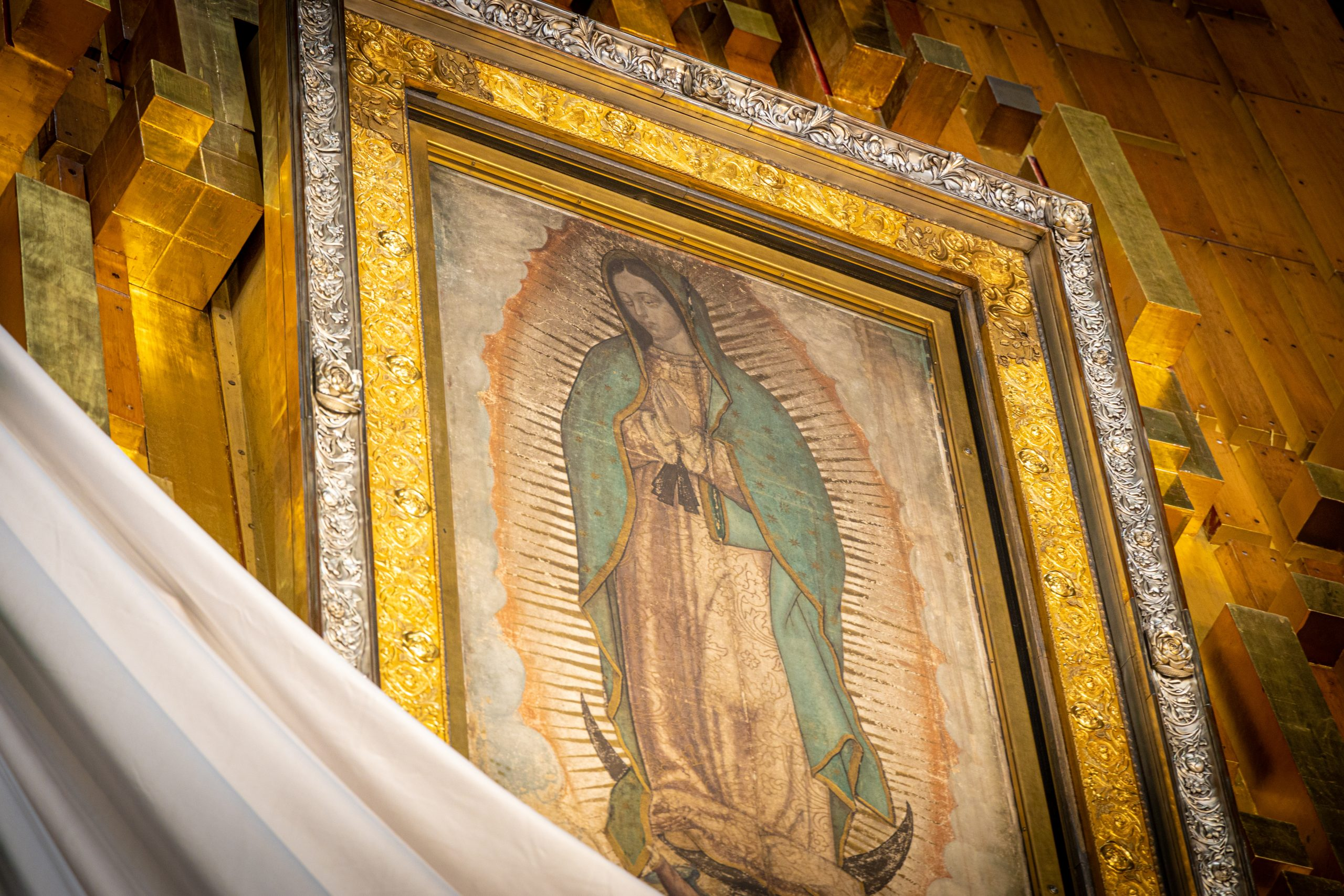 We need to kneel before Our Lady of Guadalupe together