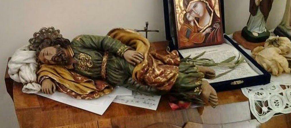 Sleeping St. Joseph and the Sacred Siesta