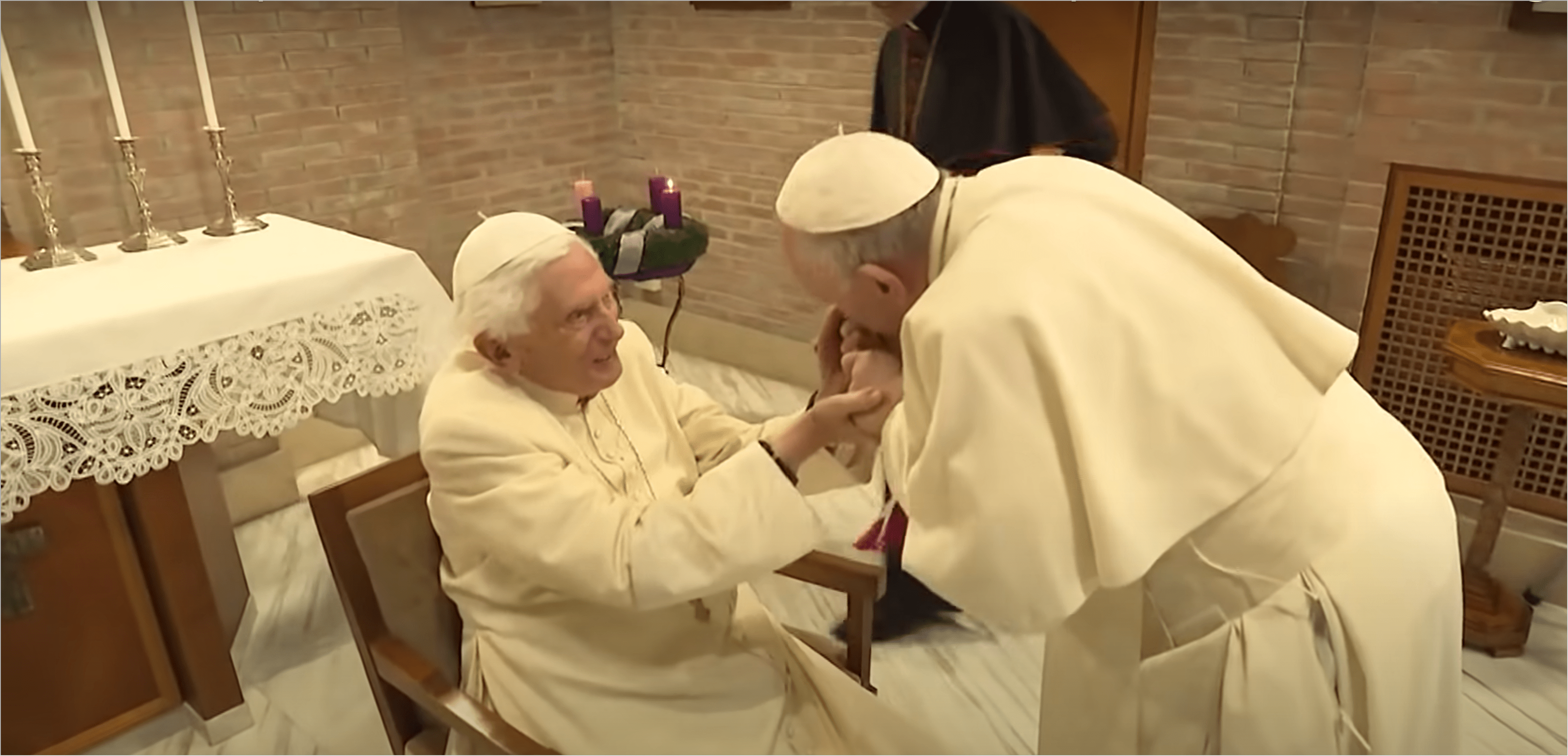 Benedict's trust in the Church and his loyalty to Francis