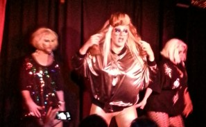 Drag show at The Stud