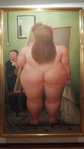 Botero like the big butts!