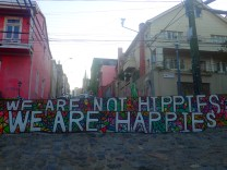 We are not HIPPIES we are HAPPIES.
