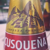 The national beer of Peru