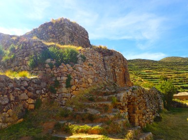 An Incan temple