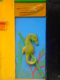 I want a seahorse on my house!