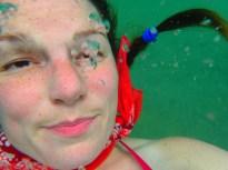 Underwater selfie on fleek.