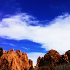 Garden of The Gods looks like another world.