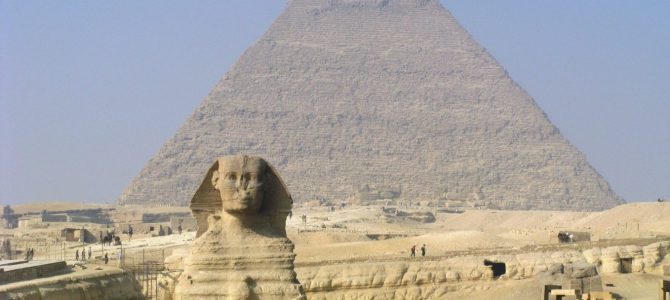 Awesome Pyramids in Cairo, Egypt