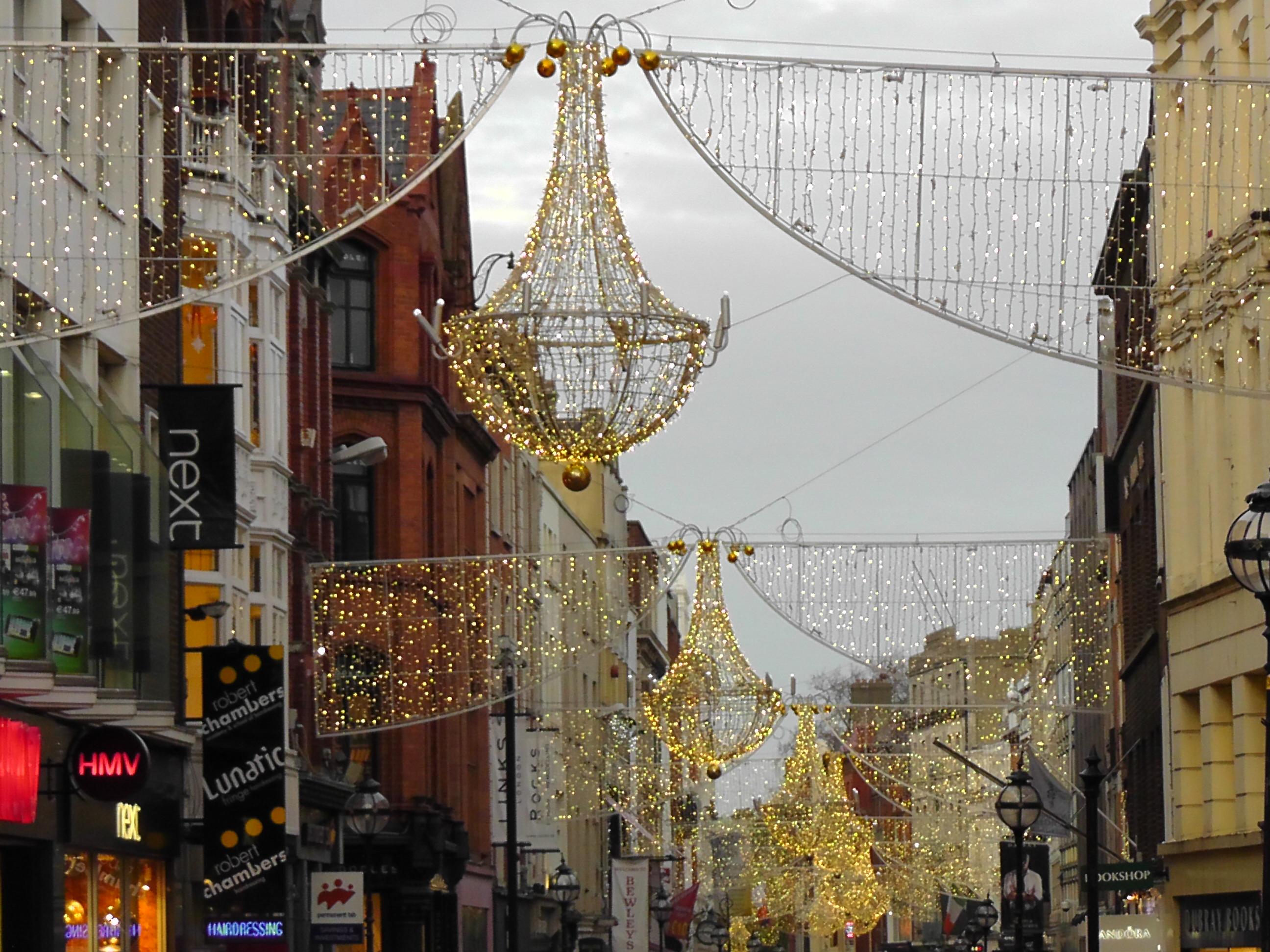 Christmas In Dublin Wheres My Backpack