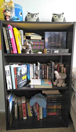 Books were left unshelved