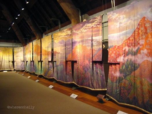 kimonos at museum