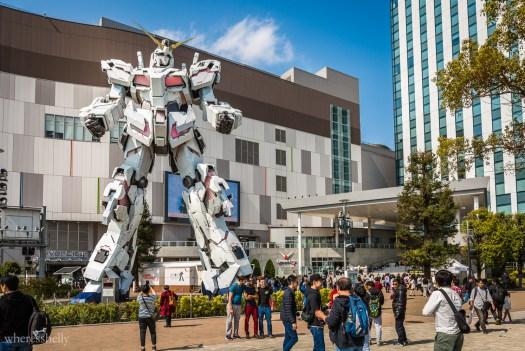 Gundam Statue Odaiba Tokyo