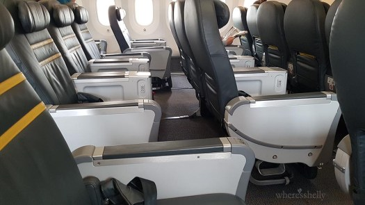 Scoot Business Class seats