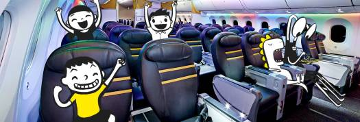 Scoot Biz Class seats