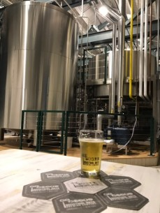 The beer and tanks