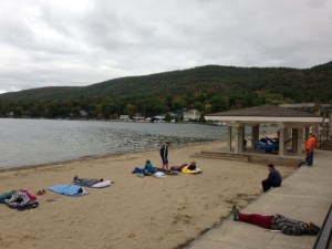 Lake George Million Dollar Beach Ragnar ADK