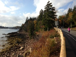 One of the scenic moments during the MDI Marathon