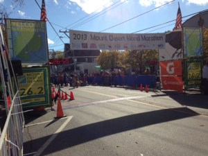 Where's the finish of the MDI Marathon?  Here.