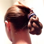 Braid bun for long hair for running