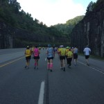 Hatfield McCoy marathon early miles
