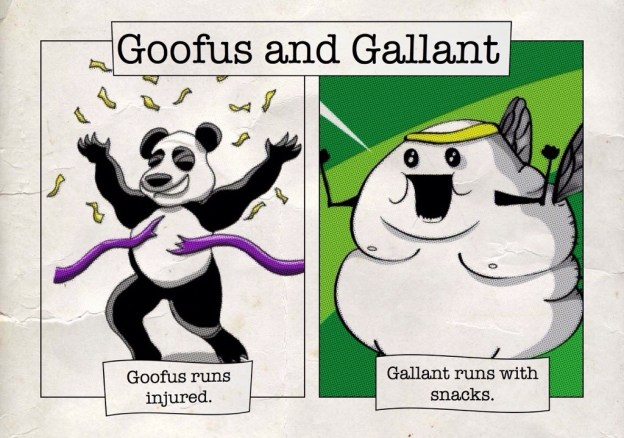 Goofus Gallant WTFinish Blerch