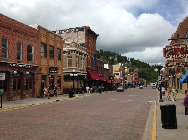 Downtown Deadwood or model train set?  Hard to tell...