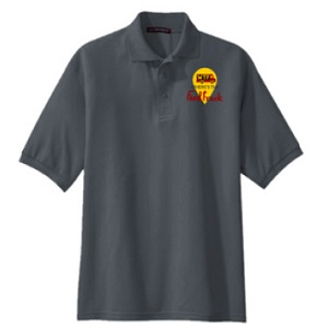 mens polo front view