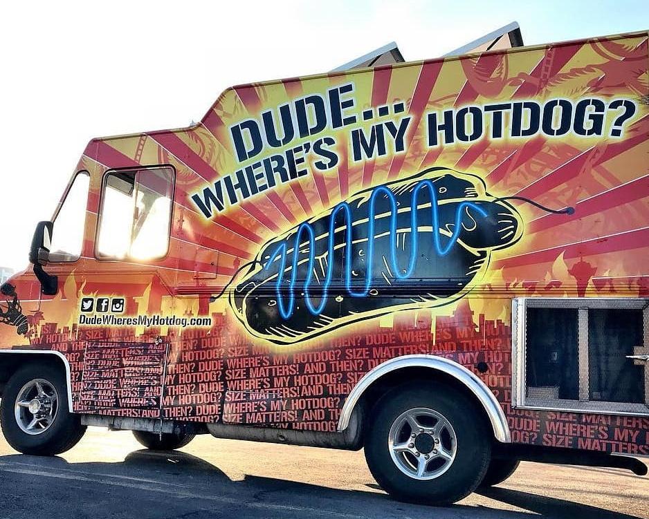 dude wheres my hotdog