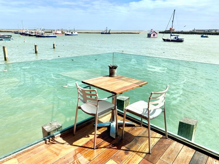 Best table at Rock Salt restaurant