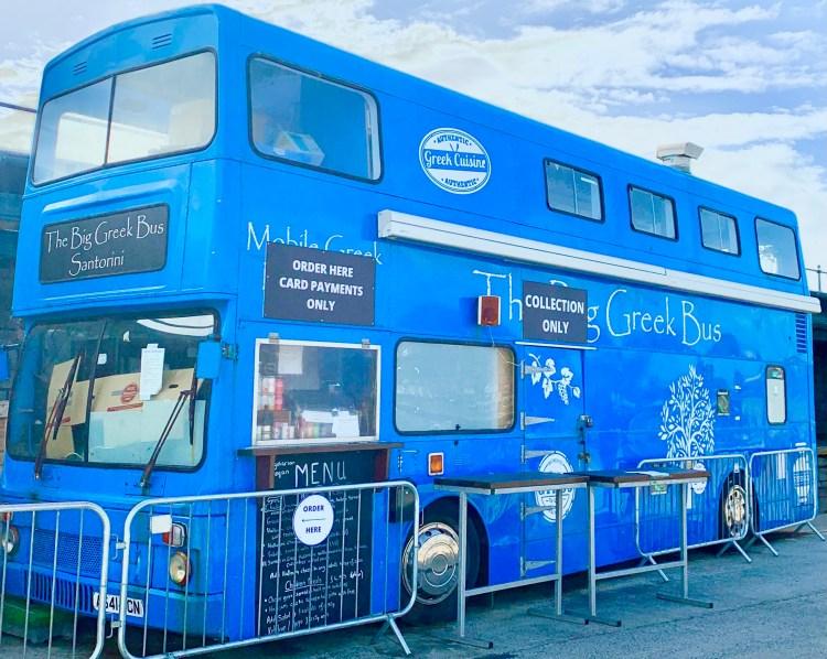 Big Greek Bus in Folkestone