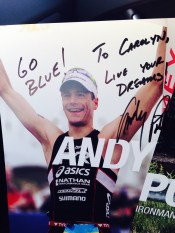 """""""To Carolyn, Live Your Dreams"""""""