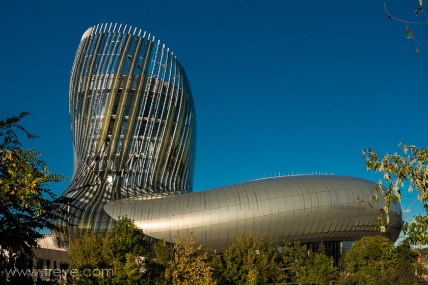 La Cité du Vin. Bordeaux, France.