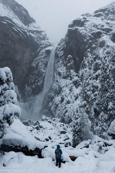 Joann at Lower Yosemite Falls