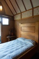 Bedroom. Frank Lloyd Wright's Oak Park house.