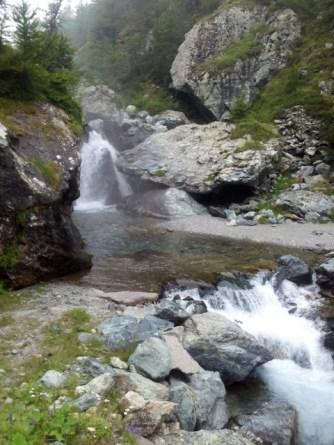 Waterfall near Conca del Pra