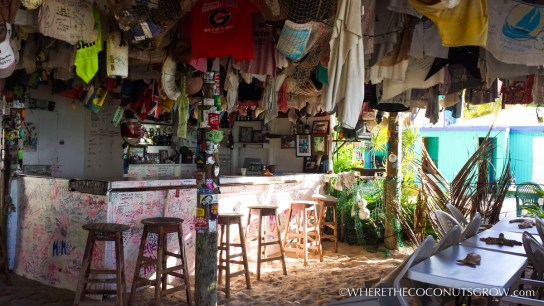 One Love Bar, White Bay, Jost Van Dyke