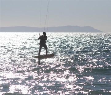 kite-hydroplaning